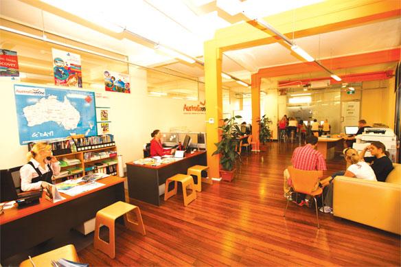 Kancelářské prostory Australiaonline
