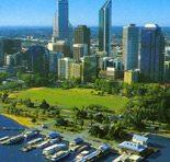 Malý přístav v Austrálii